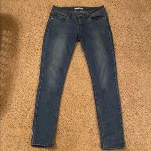 Women's Levi's 524 Skinny Jeans